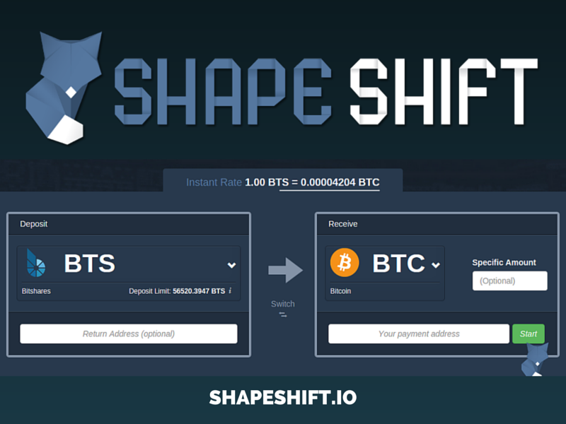 Shapeshift best cryptocurrency exchange