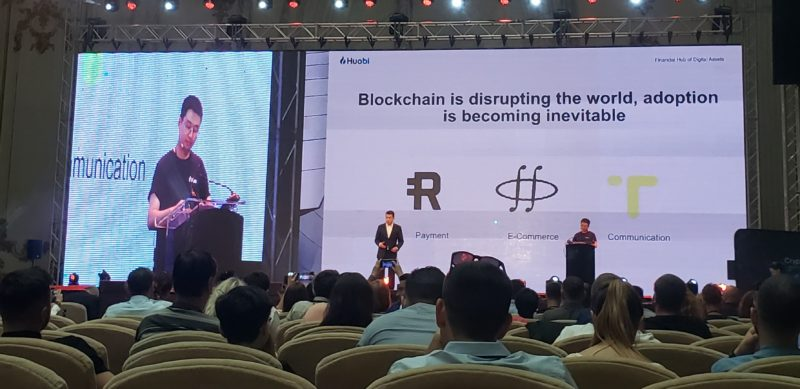 huobi global livio wong romania blockchain summit 2019 bucharest