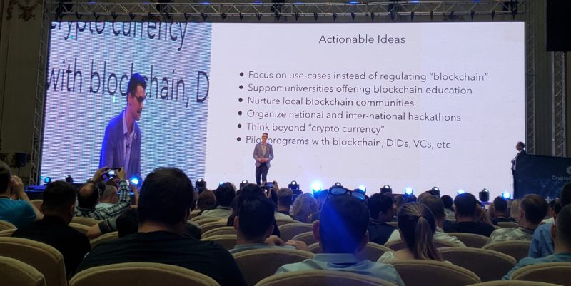 mihai alisie actionable ideas romania blockchain summit 2019 bucharest