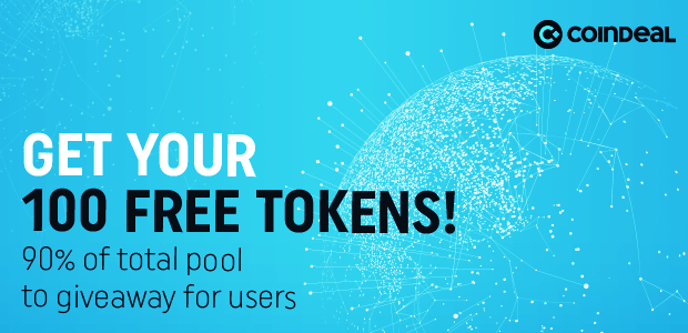 CoinDeal free token CDL