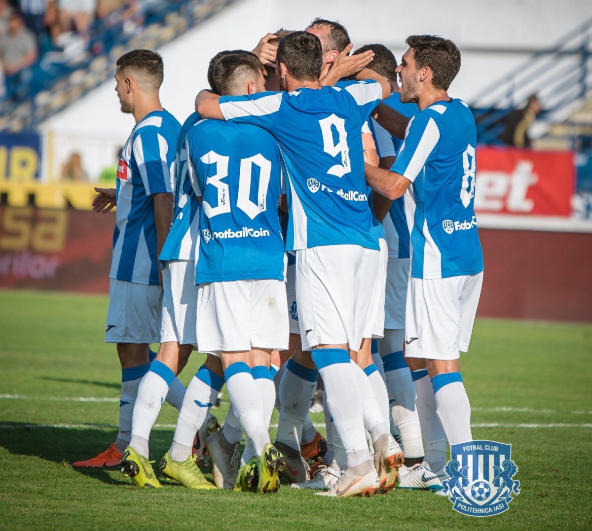 Poli Iasi is the first Romanian football club to be sponsored by a cryptocurrency start-up