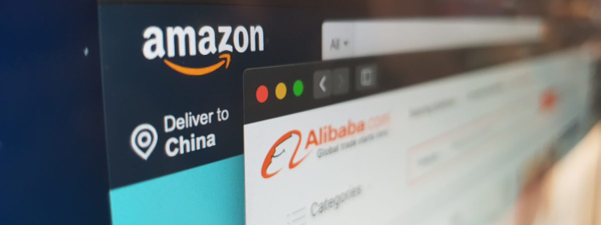 amazon alibaba e-commerce blockchain